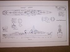 USS FLETCHER ship boat model boat plan