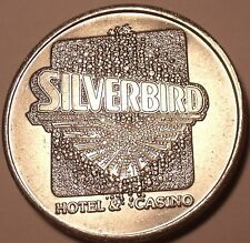 MASSIVE SILVER BIRD CASINO FREE PLAY TOKEN~GREAT PRICE~