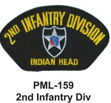 2ND INFANTRY DIV Embroidered Military Large Patch, 4""