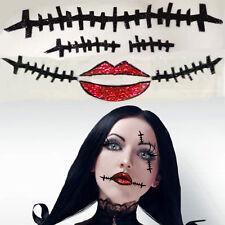 Sally Skellington Rag Doll Corpse Dead Girl Zombie Costume Eye & Body Makeup Set