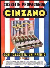 PUBBLICITA' 1951 CINZANO VINO SPUMANTE SPARKLING WINE CASSETTA PROPAGANDA PREMI