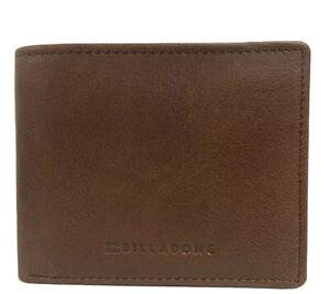 Billabong Rockaway RFID Java Leather Wallet 2 In 1 ID Wallet. RRP $59.99. NWT.