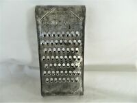 NU WA SHREDDER/ GRATER METAL VEGETABLE CHEESE VINTAGE KITCHEN TOOL