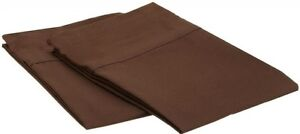 1200 SERIES PILLOWCASES - 2 Pillow Cases Per Set. King Size Standard Size - SALE
