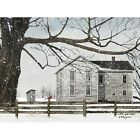 Art Print, Framed or Plaque by Billy Jacobs - A Little Snow House - BJ1127
