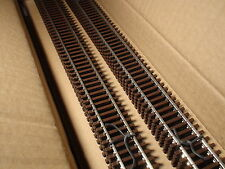 "HO ATLAS # 500 CODE 83 SUPER FLEX TRACK 36""(10) PCS BROWN TIES BIGDISCOUNTTRAINS"