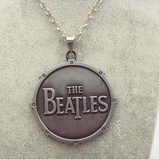 COLLANA THE BEATLES NECKLACE CIONDOLO JOHN LENNON PAUL MCCARTNEY MUSICA MUSIC #1