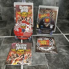 Guitar Hero Aerosmith & Warriors Of Rock PS3 Sony PlayStation 3 - Complete PAL