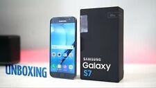 Samsung Galaxy S7 Sm-g930f Black 32gb Smartphone Unlocked