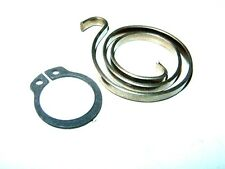 STANDARD INTERNAL EXTERNAL 3mm DOOR HANDLE SPRING & CIRCLIP 20mm ext DIMENSION