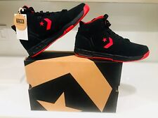 Converse Evo Basketball Sneakers Men's Size 11 Drop Step Mid Black Varsity