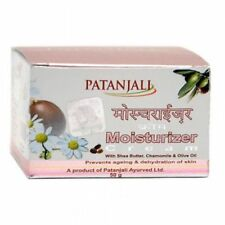 5 Pack Patanjali Moisturizer Cream With Shea Butter, Chamomile & Oliver Oil