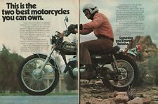 1973 Yamaha DT3-250 - 2-Page Vintage Motorcycle Ad