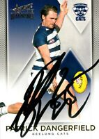 ✺Signed✺ 2019 GEELONG CATS AFL Card PATRICK DANGERFIELD