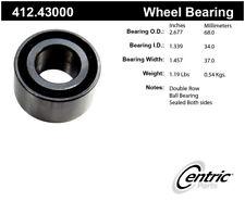 Wheel Bearing-Premium Bearings Front Centric 412.43000