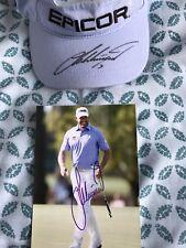 Lee Westwood Signed Golf Visor & Signed Photo Ping European Tour PGA Ryder Cup