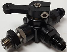 Enderle mechanical fuel injection 3 port tank return #6AN shut off valve system