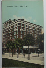 1910 Postcard The Hillsboro Hotel Tampa Florida Unposted