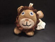 "Comfort Research Bean Bagimals Lion Li'l Buddies Small 4"" Plush Stuffed Animal"