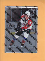 1996 97 LEAF PREFERRED STEEL # 60 PETER FORSBERG AVALANCHE *UNPEELED * FREE SHIP