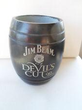 Jim Beam Devil's Cut 90 Proof Stone Shot Glasses Kentucky Bourbon Whiskey