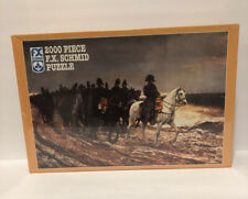 """2000 pc F.X. Schmid Puzzle Napoleon on Campaign 36-1/4"""" x 25-1/2"""" FACTORY SEALED"""