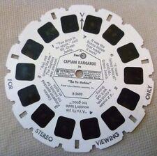 Vintage Viewmaster - Gaf Single Reel B 5603 Captain Kangaroo Pie Machine Reel 3