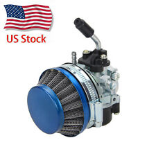 Carb Carburetor Air Filter For 49 60 66 80cc 2 stroke Gas Motorized Bike Bicycle