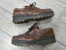 ECCO boot shoes GORE-TEX track 44 EUR (10-10.5 US) brown LOW leather waterproof