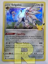 Solgaleo ® Gran Festa 021/025 ® Rara Holo Foil ® Pokemon ® Italiano