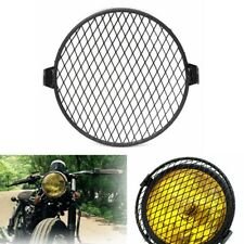 6.4inch 16cm Universal Retro Motorcycle Motor Bike Headlight Mask Cover Grill Ro