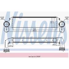 Ladeluftkühler NISSENS 96723