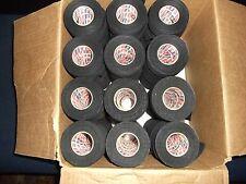"Black Hockey Tape 81 rolls 1""x25yds. * First Quality *"