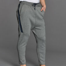 Nike Tech Fleece Pants Joggers Cropped Mens Grey Tapered Size Small BRAND NEW
