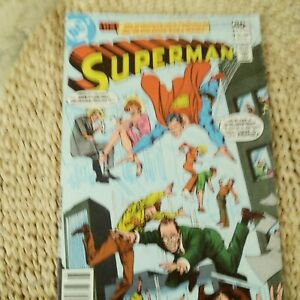 SUPERMAN COMIC #350 AUGUST, 1980, IN EXCELLENT CONDITION, ORIGINALLY 40 CENTS