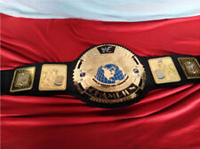WWF Big Eagle Attitude New Era Championship Belt 4mm Black Handcrafted Premium