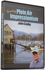 John Cosby: Painting Plein Air Impressionism - Art Instruction DVD