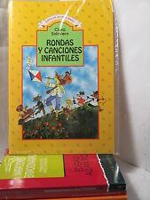 RONDAS Y CANCIONES INFANTILES - C SOLOVERA Spanish Literature Libros EN Espanol