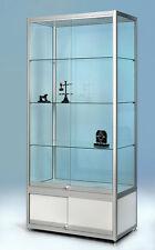 Ausstellungsschaufenster-display H190x90x50 glasvitrine mit Unterschrank D-9.5.1