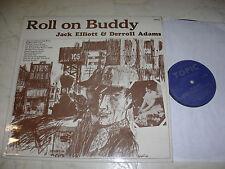 DERROLL ADAMS & JACK ELLIOTT Roll on Buddy *ORIGINAL UK TOPIC LABEL 1964*NM*