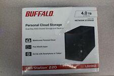 Buffalo - LinkStation 220 4TB 2-Bay External Network Storage (NAS) PLEASE READ