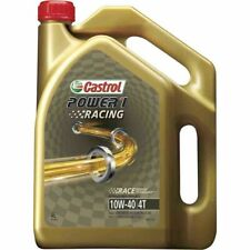 Castrol POWER1 Racing 4T Motorcycle Oil 10W-40 4 Litre