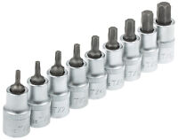Steckschlüssel Satz Innen Torx Nüße TX20-TX60 Torxschlüßel Nuss Kfz Werkzeug Set