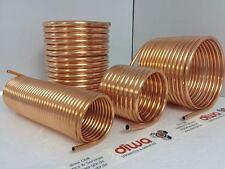 Spirale aus Kupferrohr 10x1mm weich aus 10m mit Ø ca. 20cm (Kupferrohrspirale)