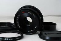 CONTAX Carl Zeiss Tessar 45mm f/2.8 T* MMJ Manual Focus Pancake Lens from Japan