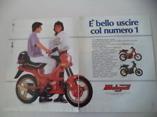 advertising Pubblicità 1987 MALAGUTI FIFTY TOP 50