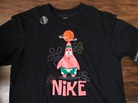 Nike Kyrie Patrick Star Dri-Fit T-Shirt Black CD0947-010 M-2XL 100% Authentic