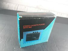 Stereo Cassette player With Bbs