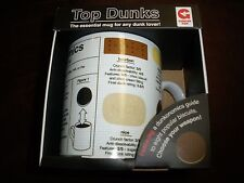 NEW Top Dunkers Ginger Fox Mug the proper way to dunk food into a hot beverage
