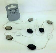 Oval Plastic Beaded Costume Necklaces & Pendants